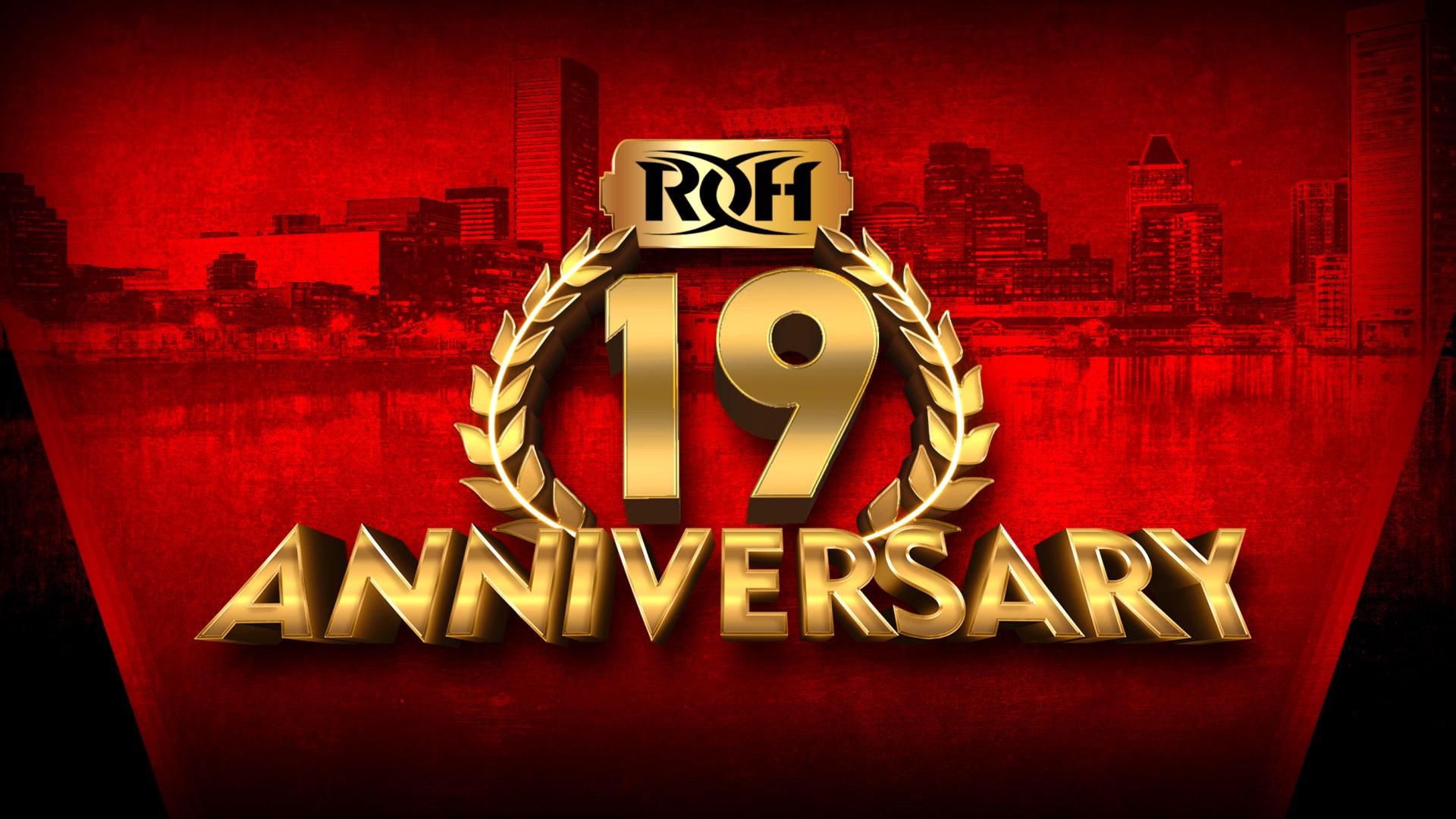 ROH 19th Anniversary: Card final do evento!