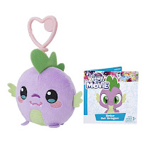 MLP the Movie Spike Clip and Go Keychain Plush