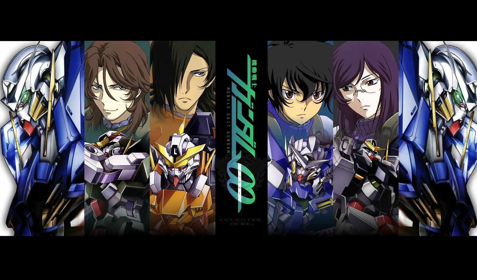 Amazing Mobile Suit Gundam 00 Dynames Wallpaper Illustration