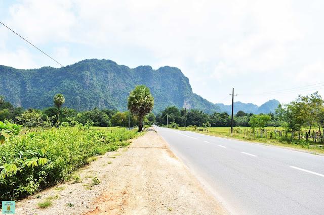 Carreteras de Hpa An, Myanmar
