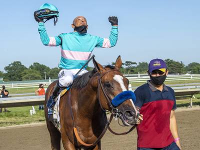 Authentic se impone en el Haskell Stakes con Mike Smith