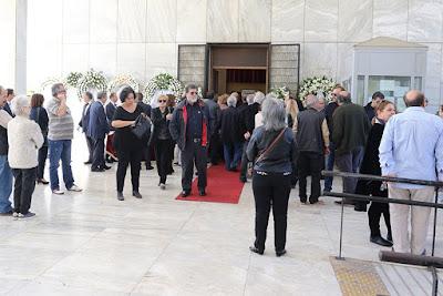 Η κηδεία του Γιάννη Βόγλη