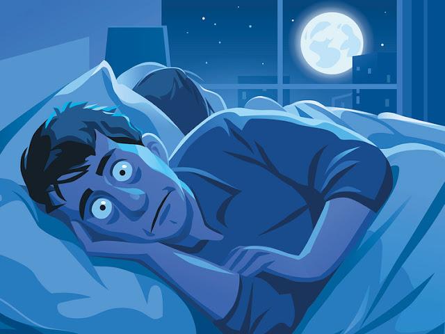 You can sleep less well