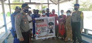Jaga Kondusifitas Pilkada, Polres Pelabuhan Patroli Perairan di Kepulauan Sangkarrang