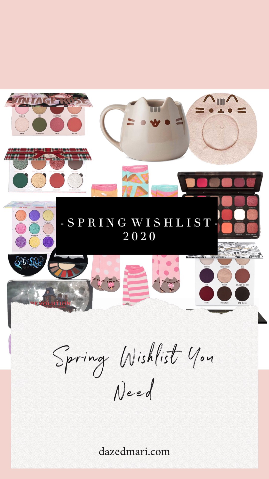 Spring Wish List, Gift Guide, Anti-Haul