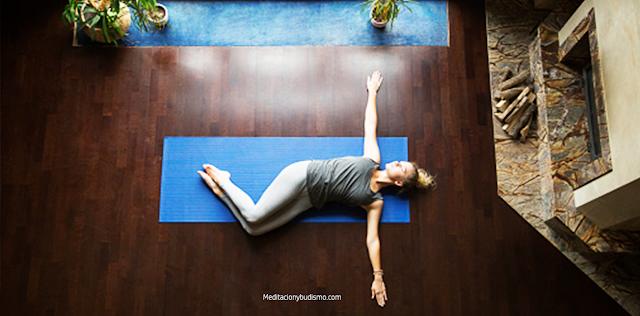 Técnica de yoga para dormir mejor