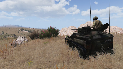 Arma3用MODのWiesel 1A4 MK20 空挺戦闘車