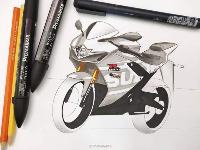 Suzuki GSXR150 Makin Sporty Olah Digital