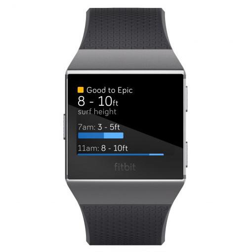 App Surfline Fitbit Ionic