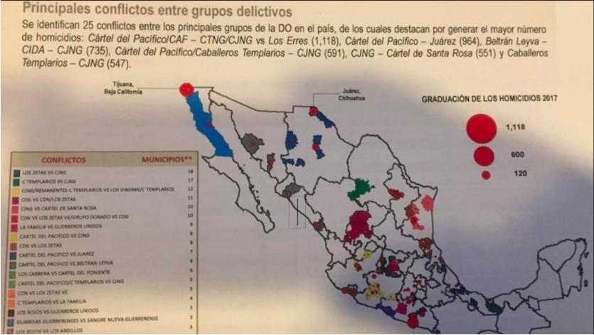 La guerra por territorios prioritarios y la batalla por el fentanilo: así cambió el mapa del narco en México