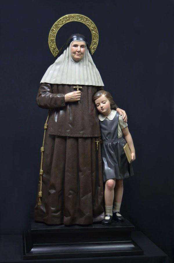 Así es la imagen de Santa Ángela de la Cruz de Alejandro López para Chiclana