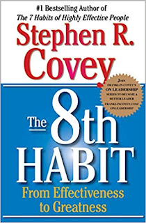 The 8th Habit by Dr. Steven Covey