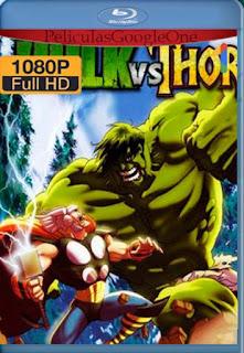 Hulk vs Thor [1080p BRrip] [Latino-Inglés] [LaPipiotaHD]