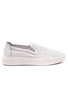 mokasen deri bayan ayakkabı