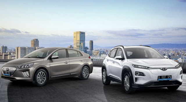 Mobil listrik Hyundai IONIQ dan KONA, resmi sudah dapat dipesan