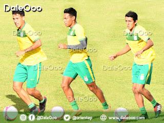 Marcelo Suárez, Ferddy Roca y Kevin Salvatierra los Sub 20 a disposición de Mauricio Soria en Oriente Petrolero - DaleOoo