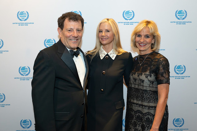 New York Times journalist Nicholas Kristof, Academy Award-winning actress Mira Sorvino and Delta Air Lines among those honored at the annual United Nations Day Humanitarian of the Year Award Gala Dinner 2019