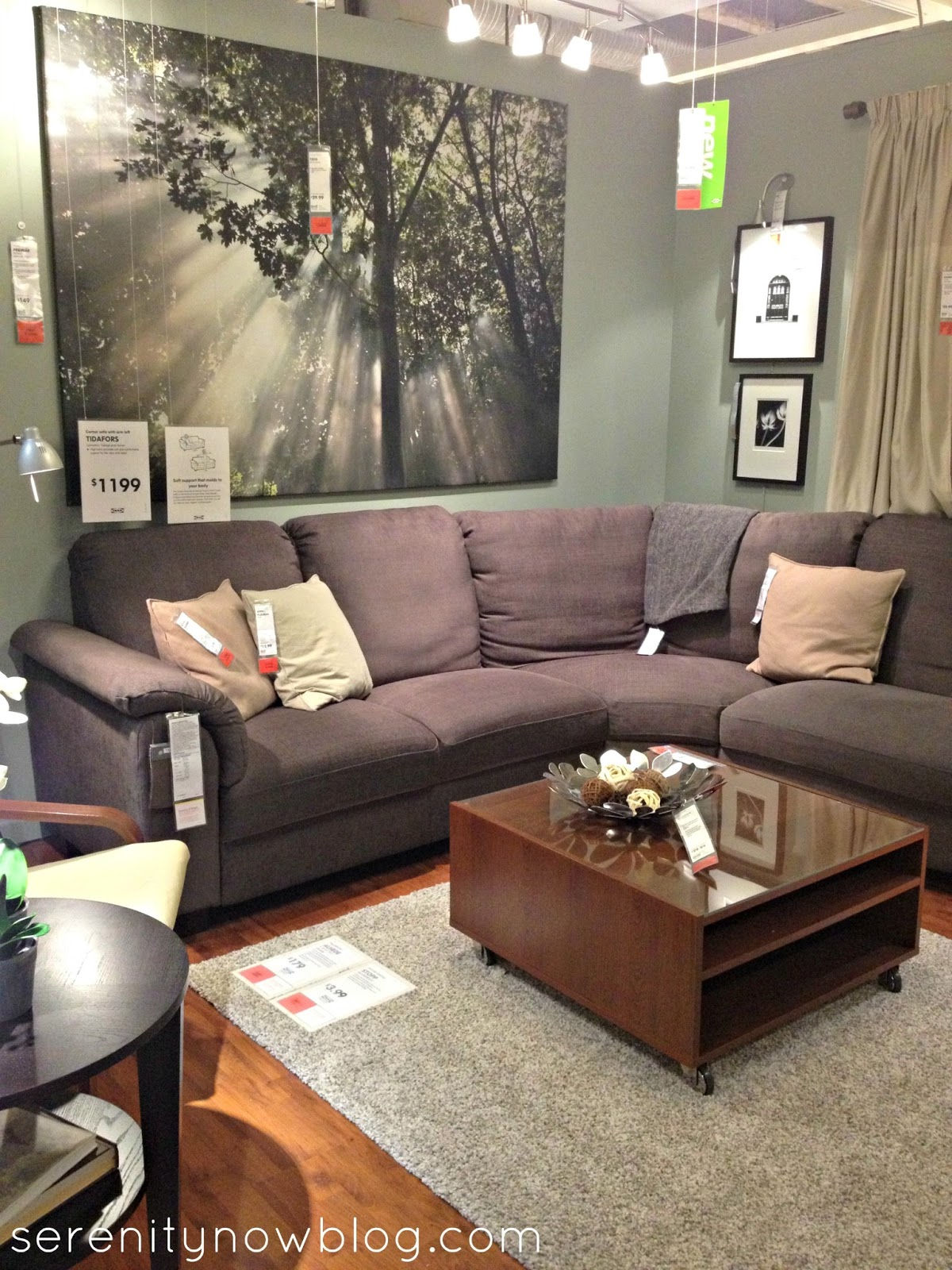 Serenity Now: IKEA Shopping Trip and Home Decor Inspiration (Jan. 2013)