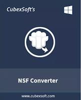 CubexSoft NSF to PST Converter