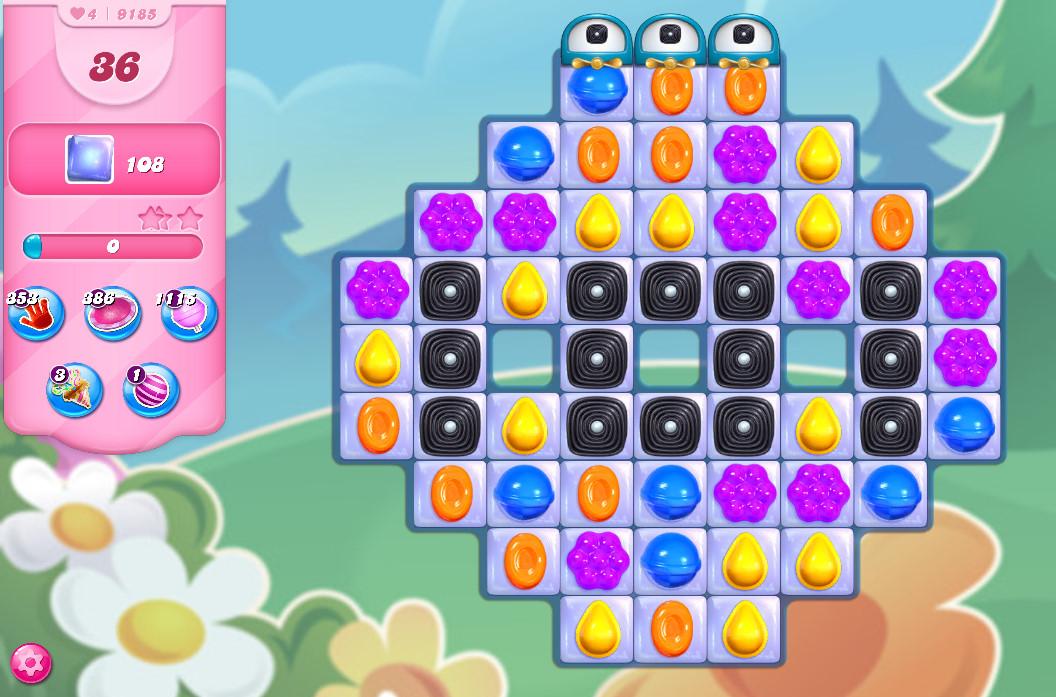 Candy Crush Saga level 9185