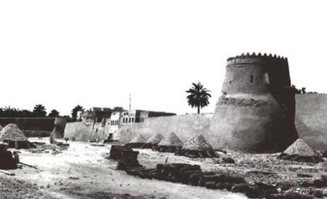 سور مدينة القطيف  1930م