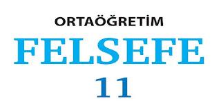 11. Sınıf Felsefe MEB Yayınları