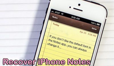 What Is The Best Way To Recover iPhone Notes That Were Lost? ~ The News of iPhone