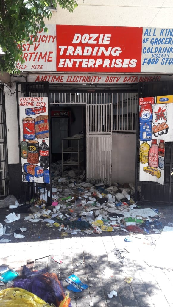 Xenophobia: 9 Nigerian-owned shops burnt in South Africa