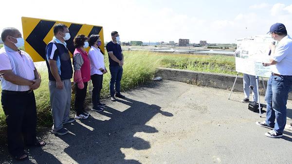 鹿港鎮三座橋將重建及改建 提升道路橋梁行的安全