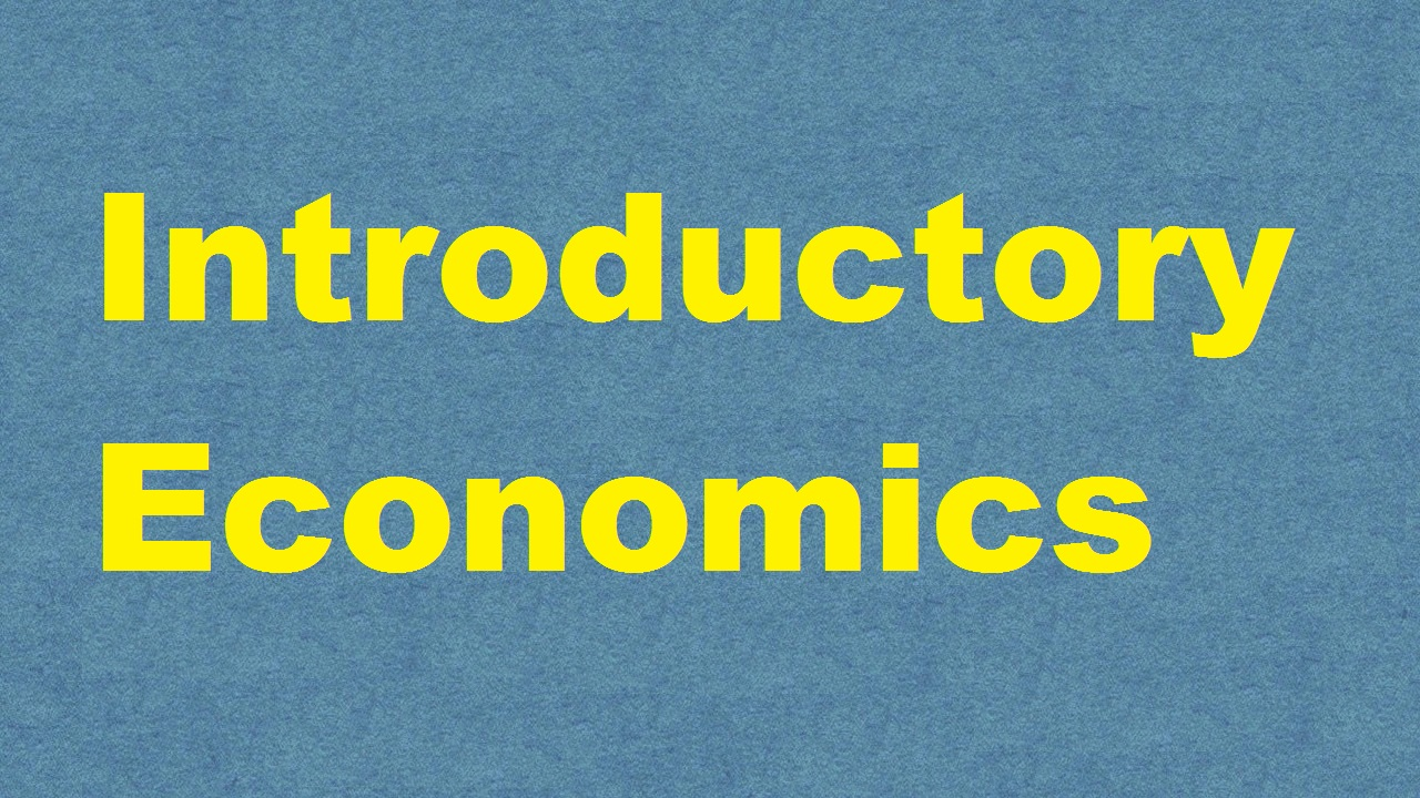 Introductory Economics ICAR E course Free PDF Book Download e krishi shiksha