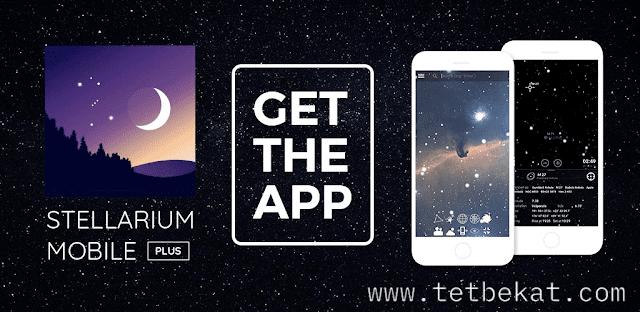 تحميل تطبيق Stellarium Mobile Plus - Star Map خريطة النجوم لهواتف الاندرويد النسخة المدفوعة