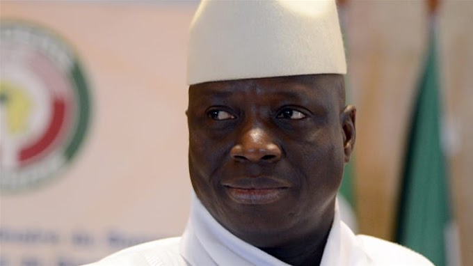 Former Gambian President Yahya Jammeh blocked from entering US