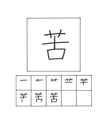 kanji penderitaan