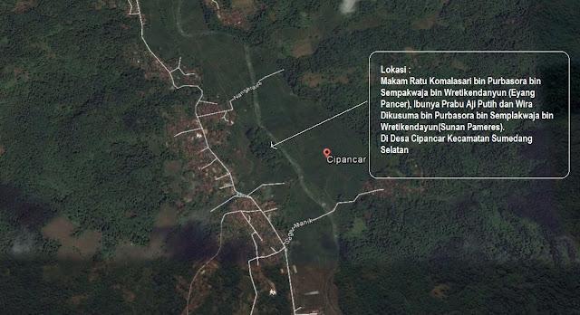 Situs Ibunya Prabu Aji Putih Ada di Desa Cipancar Kecamatan Sumedang Selatan