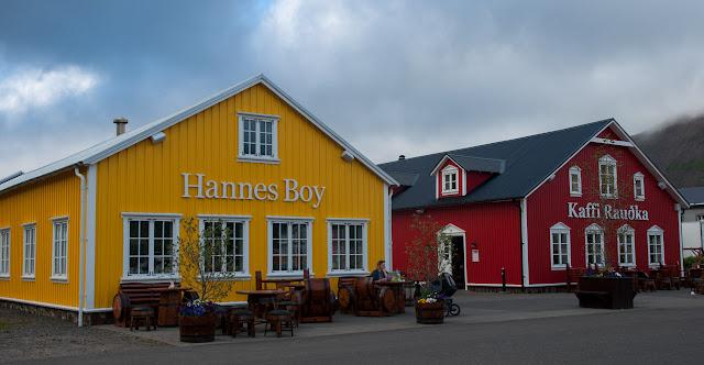 Restaurantes y pubs en Siglufjörour