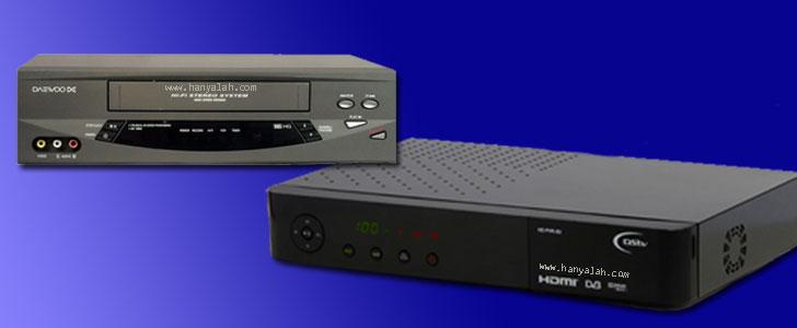 Perangkat yang mendukung VCR dan PVR