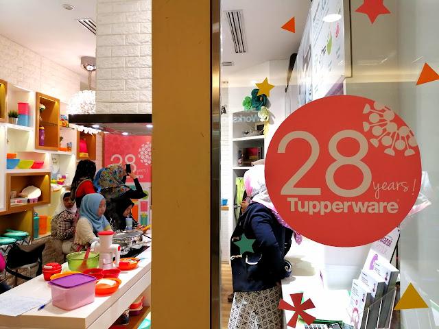 Anniversary Tupperware ke-28 di Indonesia
