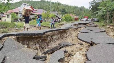 Sebutkan Penyebab Terjadinya Gempa Bumi