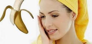 فوائد الموز لبشرة صحيه