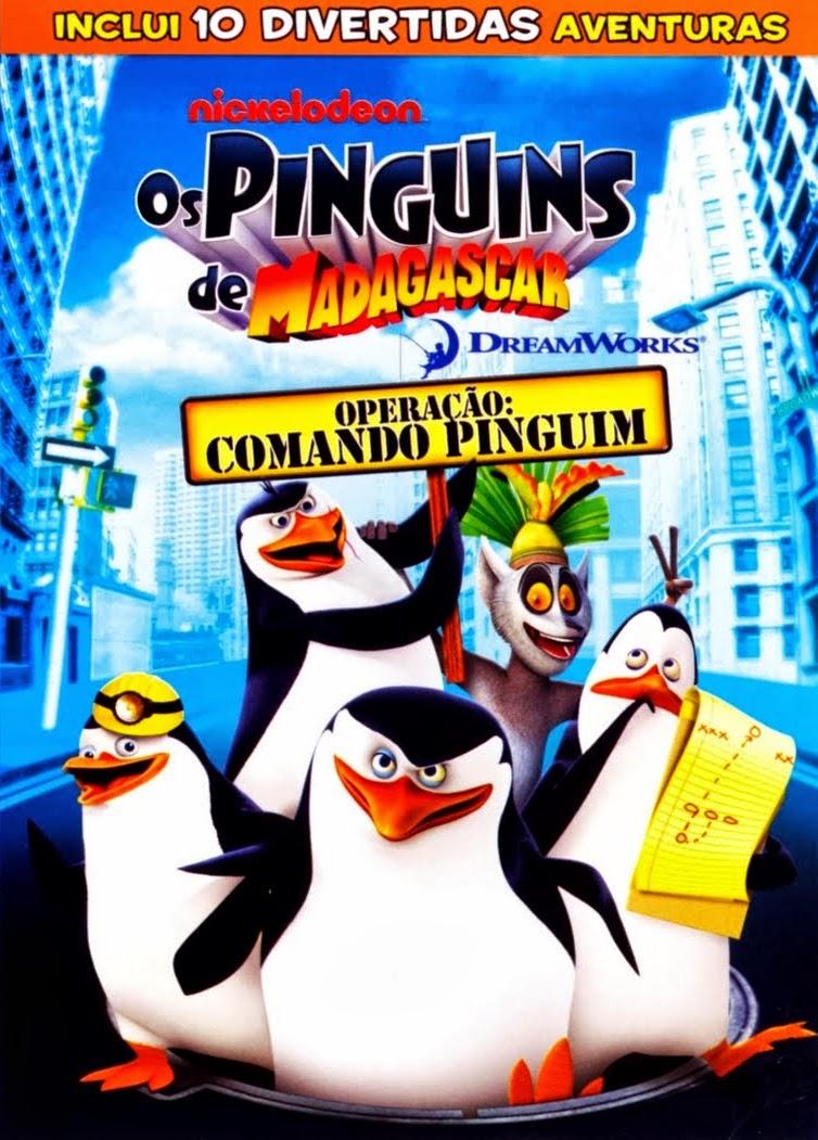 Os Pinguins de Madagascar – Operação: Comando Pinguim – Dublado (2008)