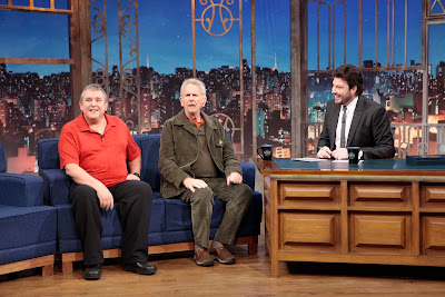 Richard, René e o apresentador (Crédito: Lourival Ribeiro/SBT)