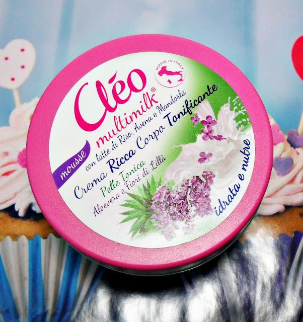 CLEO multimilk | krem do ciała tonizujący | z aloesem i kwiatem bzu