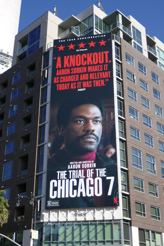 Trial of Chicago knockout FYC billboard