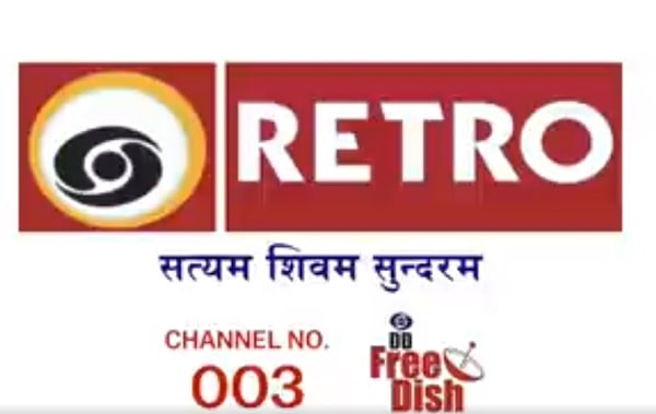 DD Retro New Channel added on DD Freedish at LCN No.3