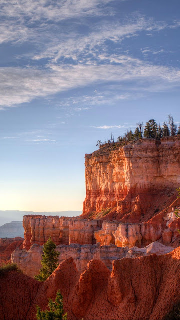 Canyon, rocks, trees, landscape wallpaper