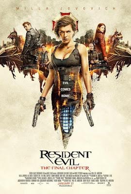 Resident Evil: The Final Chapter 2017 DVD Custom NTSC Latino CAM TC V3