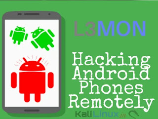 L3mon Kali Linux Control Android device remotely