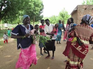 Wedding celebration in The Democratic Republic of Congo