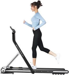 RHYTHM FUN Under Desk Folding Treadmill