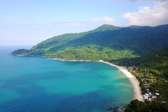 Pantai-Pantai Di Pulau Tioman Jadi Destinasi Idaman Percutian